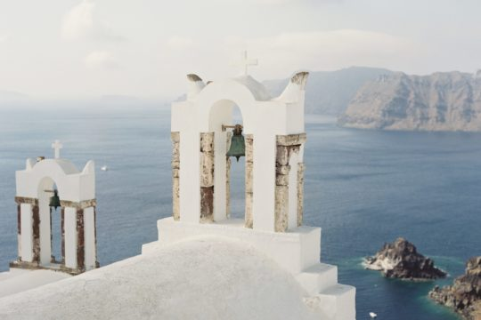 Church in Santorini Greece by Travels of Skloss