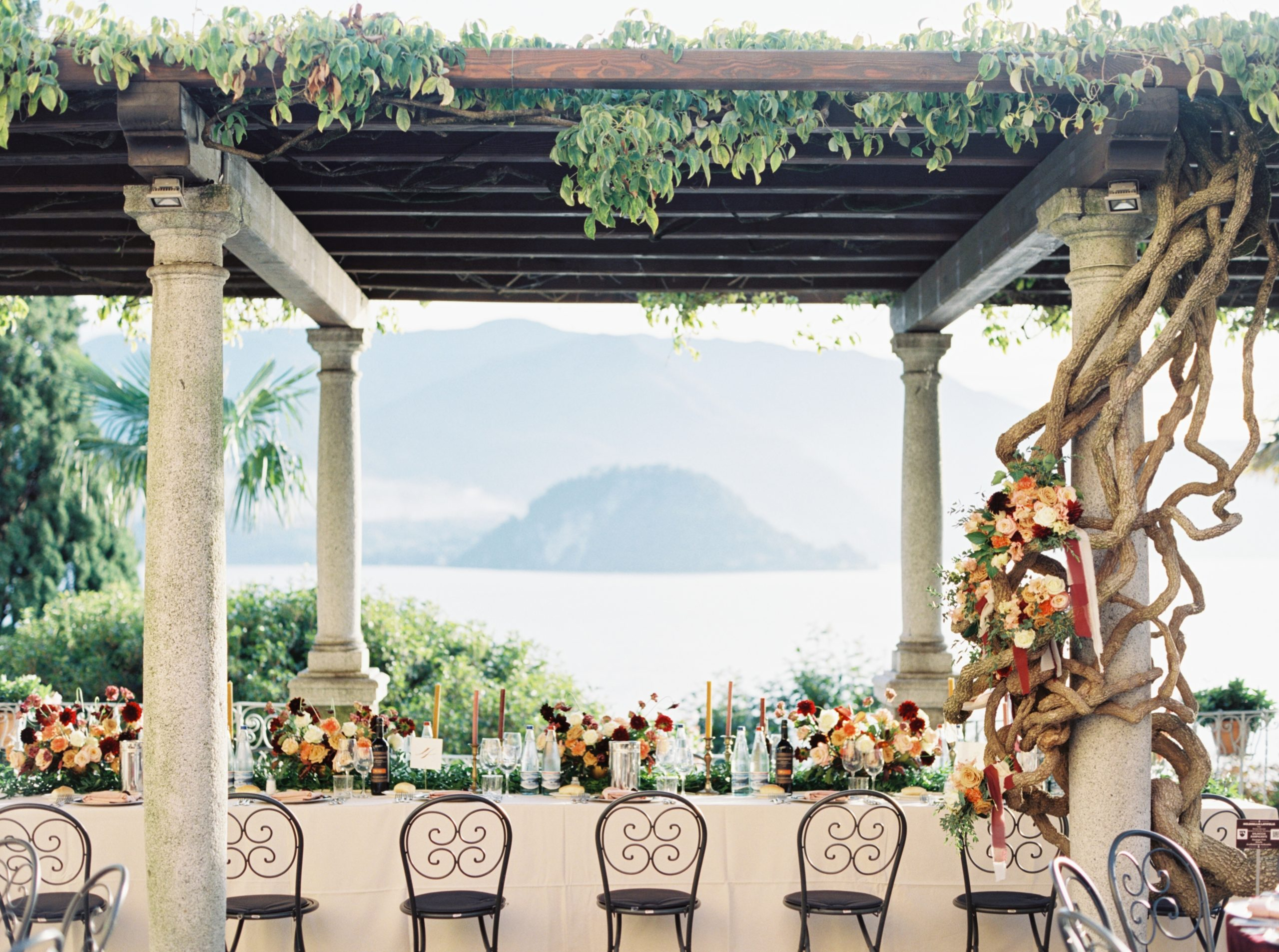Villa Cipressi Wedding by Shannon Skloss