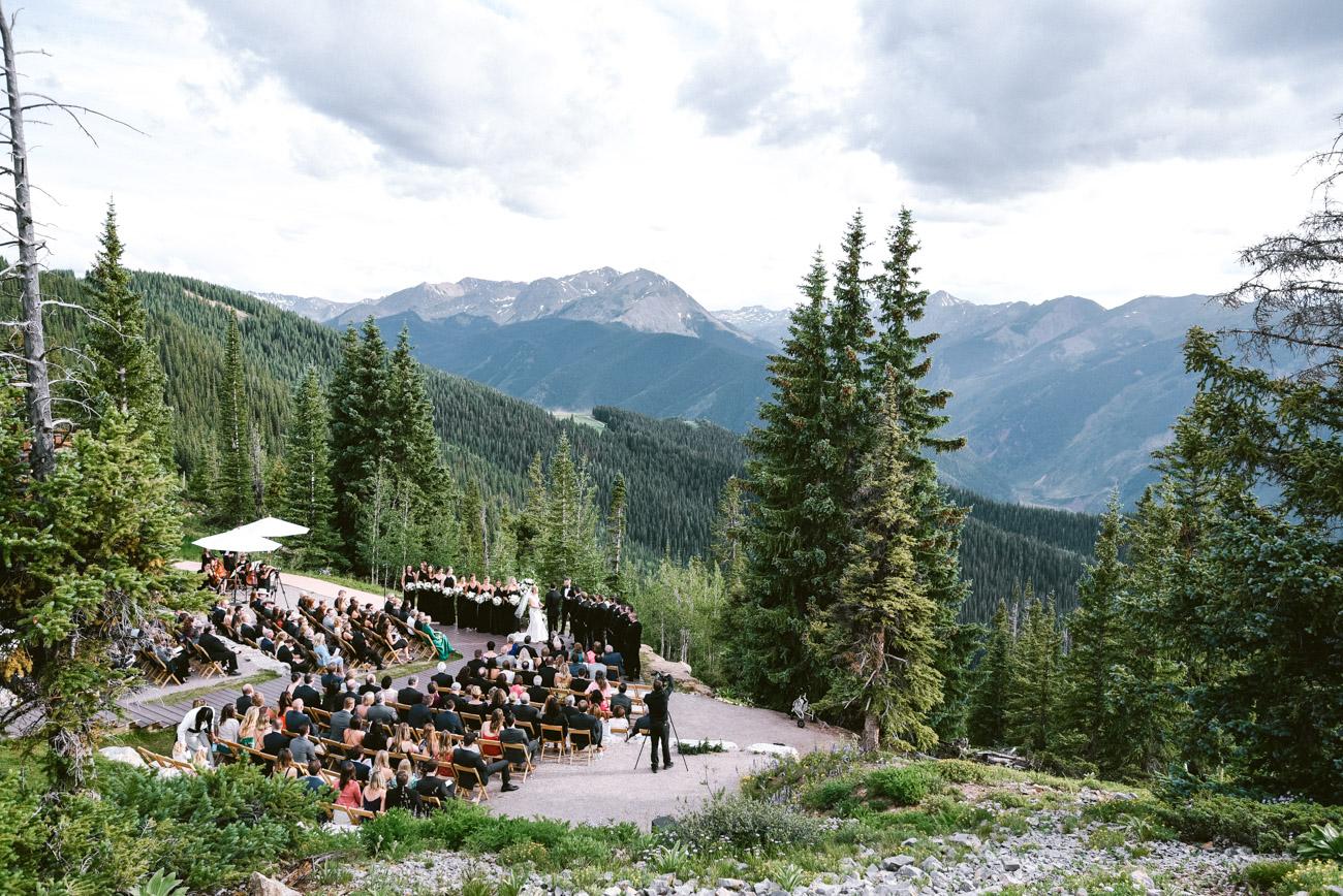 aspen sundeck wedding at little nell