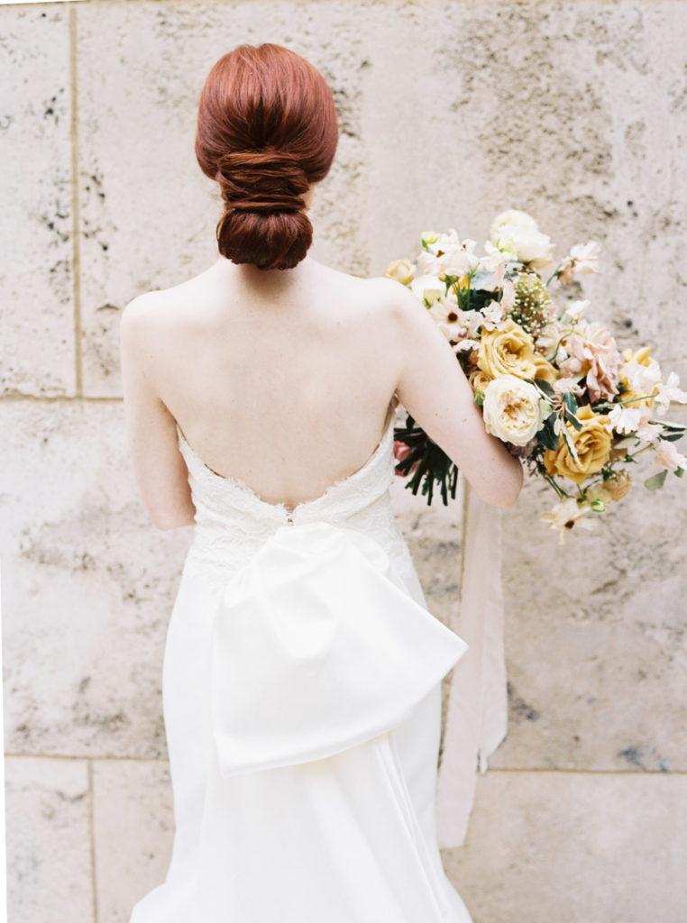 Sareh Nouri gown at Nasher bride