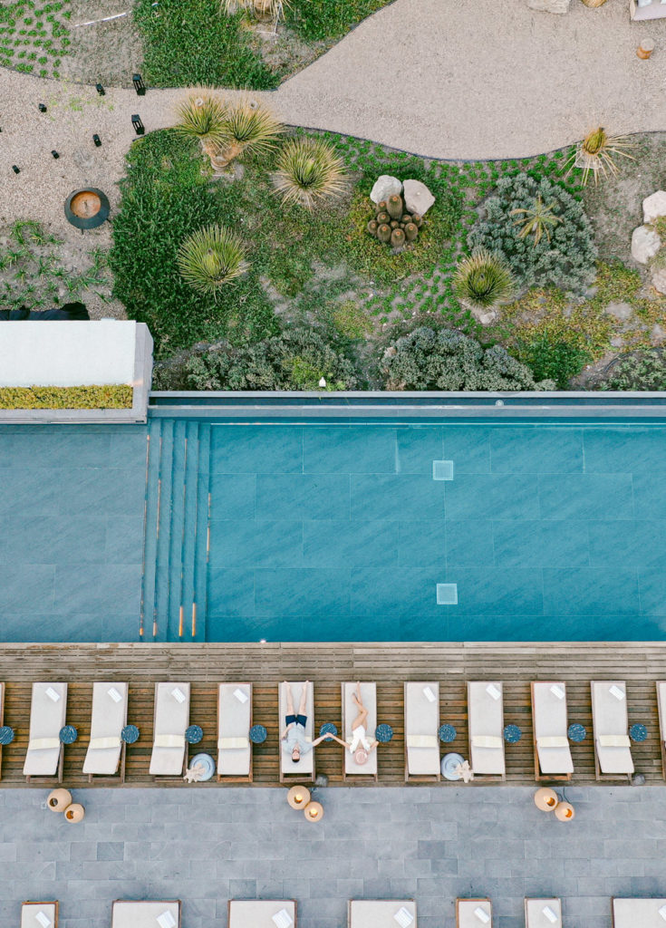Live Aqua San Miguel pool engagement photo